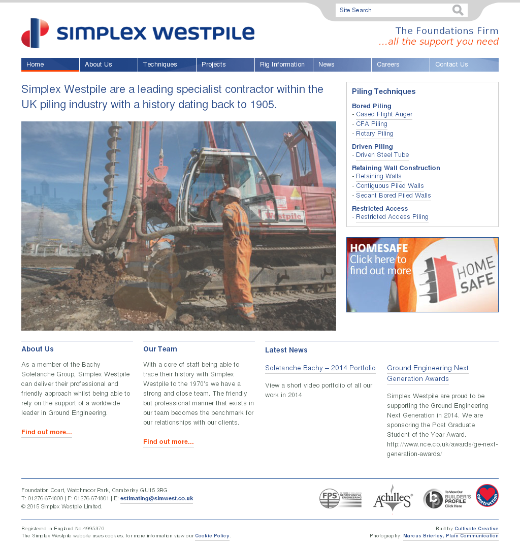 Simplex Westpile Competitors, Revenue and Employees - Owler