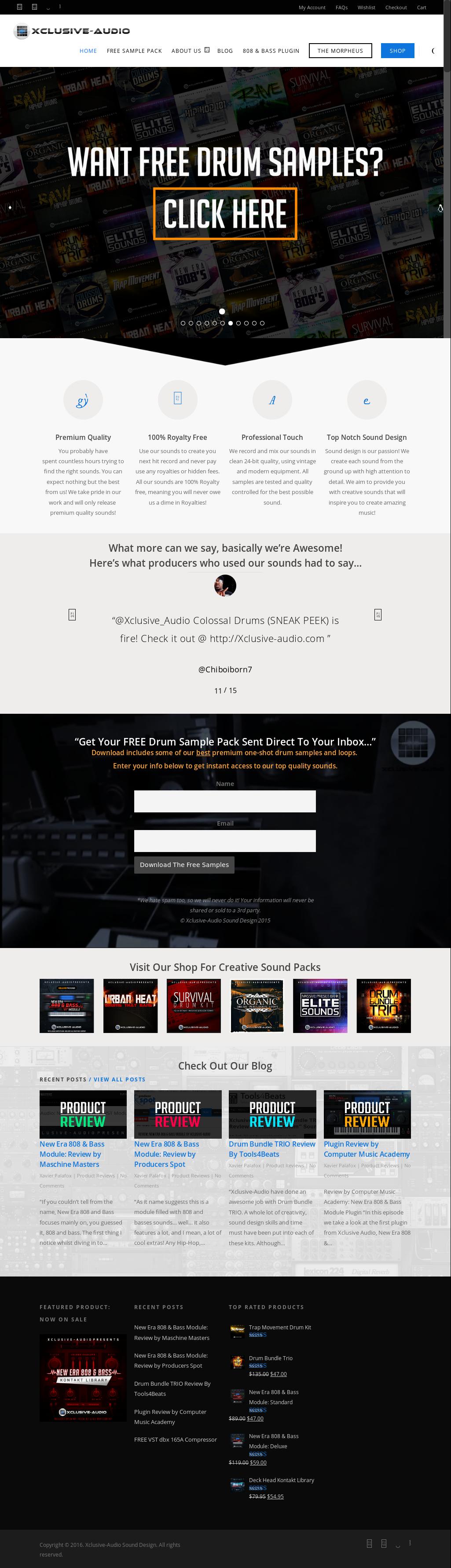 new era 808 & bass module free