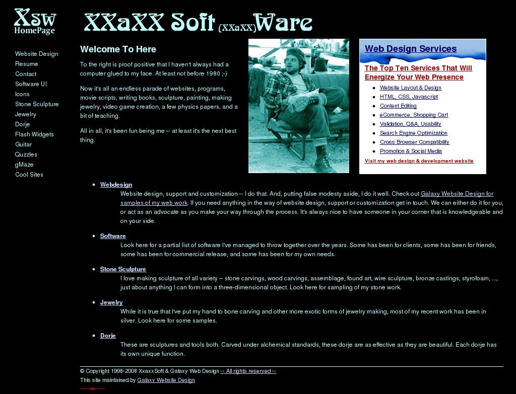 Xxaxxsoft & Galaxy Web Design Competitors, Revenue and