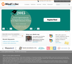 MindFire website history