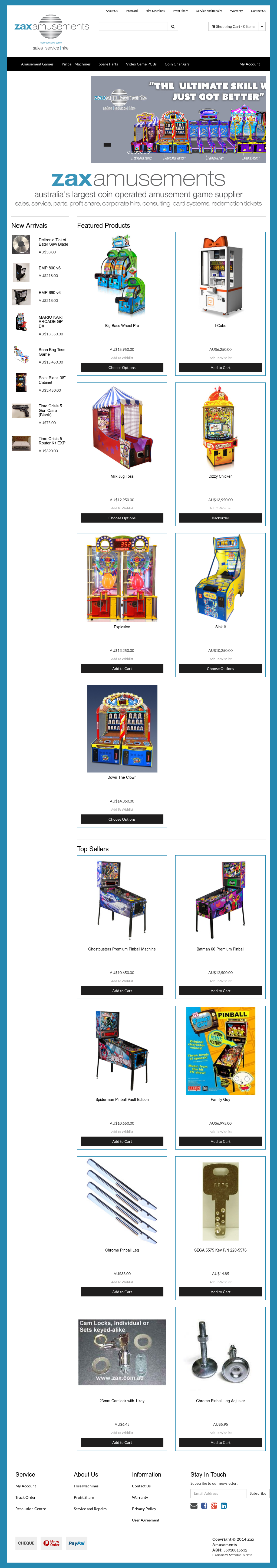 Zax Amusements Competitors, Revenue and Employees - Owler