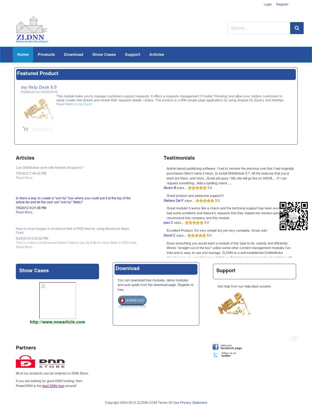 Zldnn.com - Module Developer Of Dotnetnuke Competitors, Revenue and ...