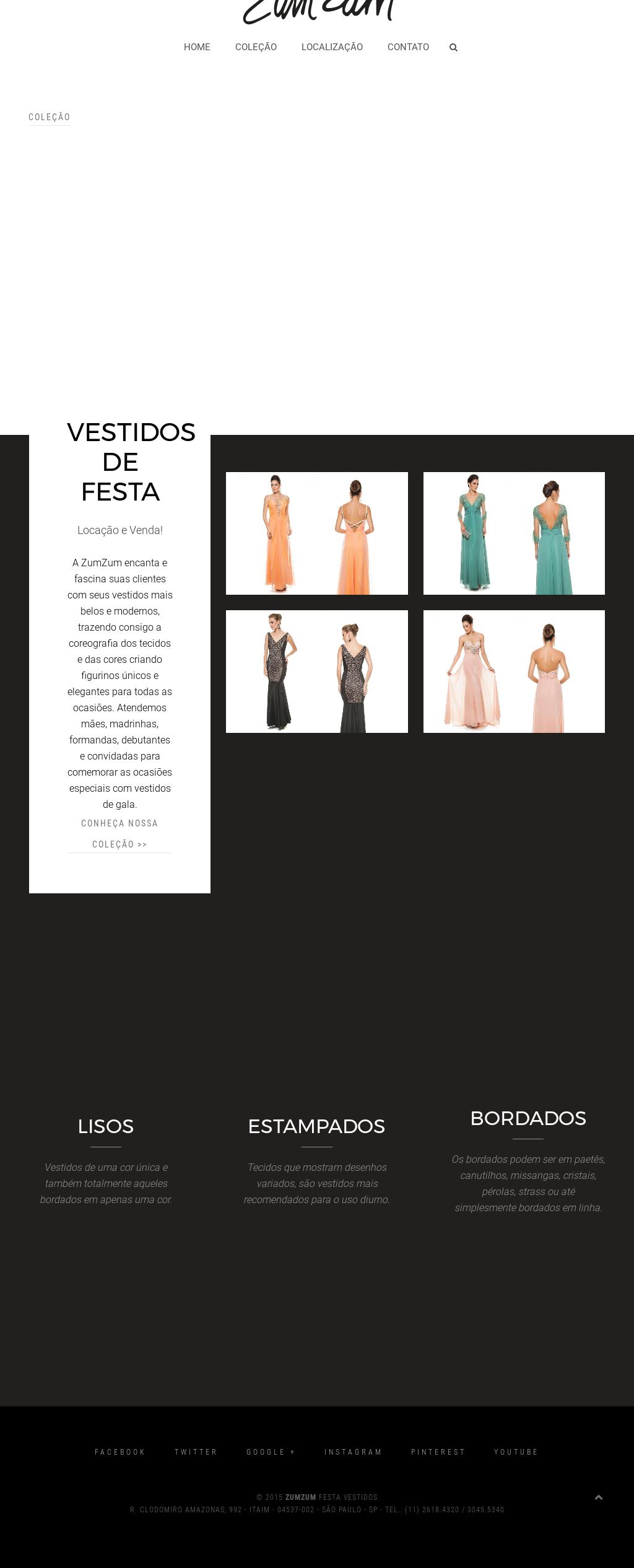 b72d0368ef Zum Zum Festa - Vestidos De Festa Competitors