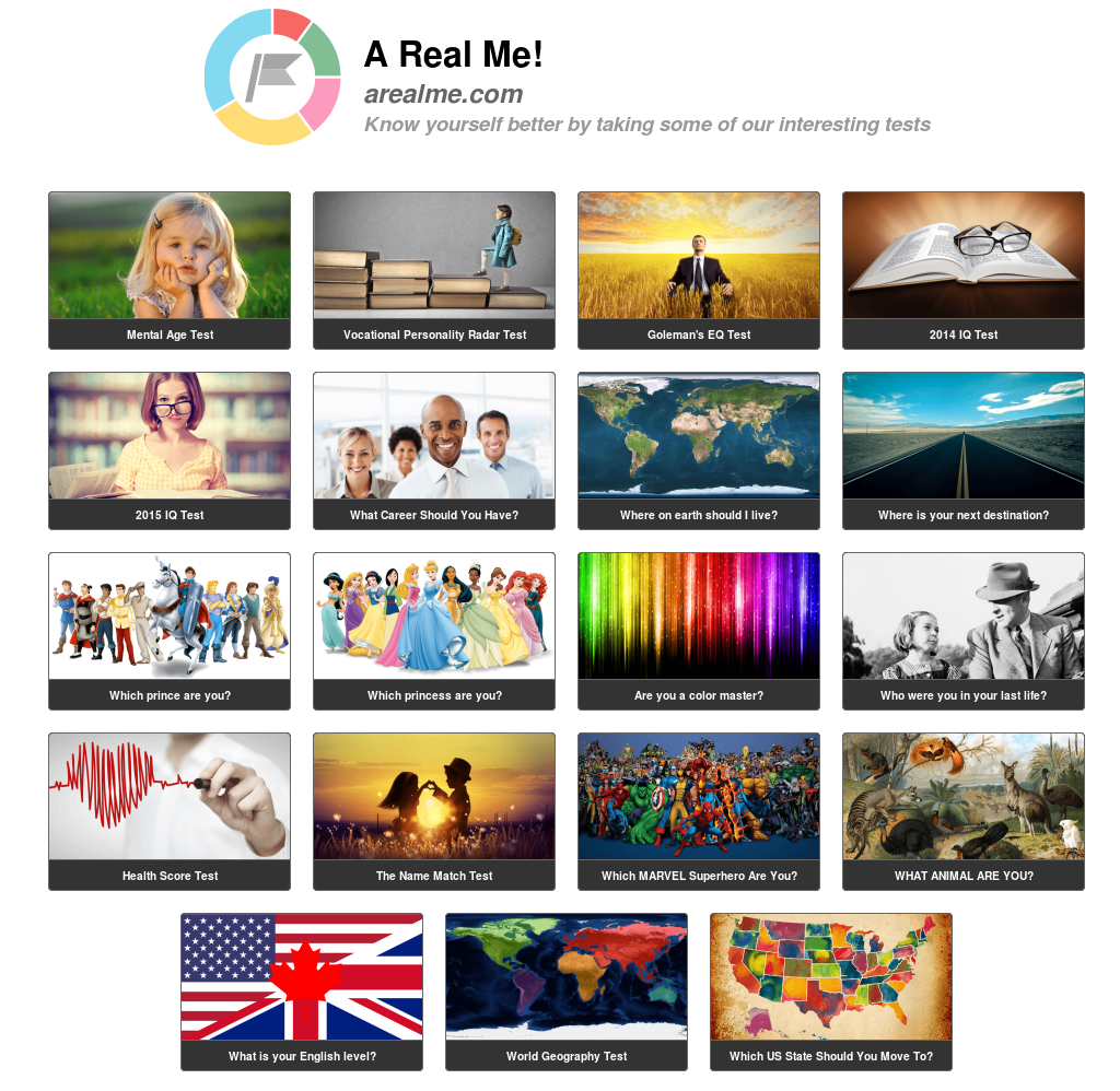 Arealme com - Ever Want To Know More About Yourself