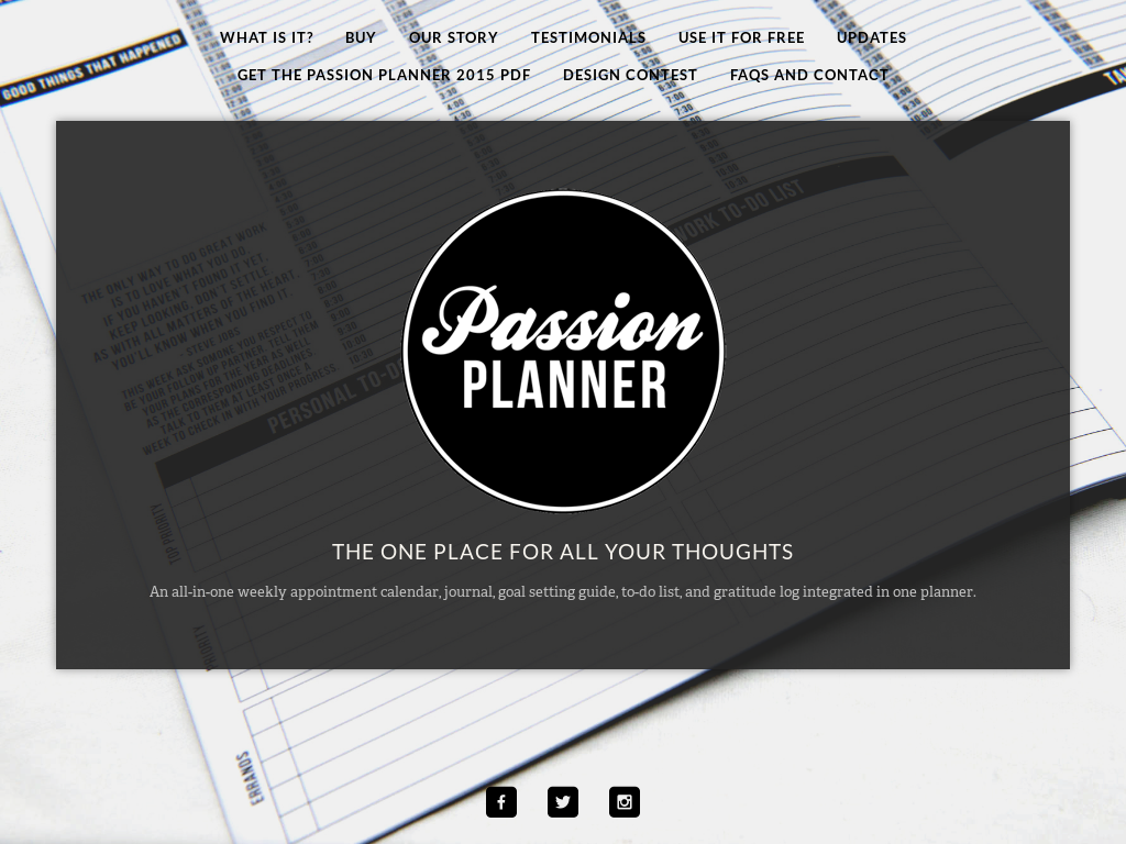 Passion Planner 2015 Full Pdf