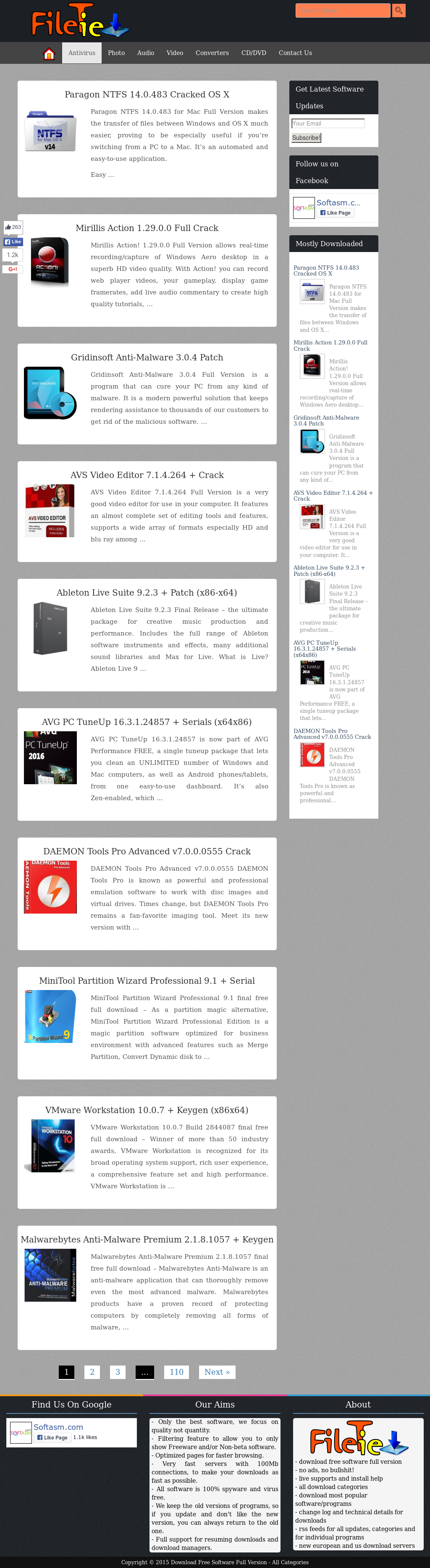 Fileshore - Download Free Full Software Version Competitors