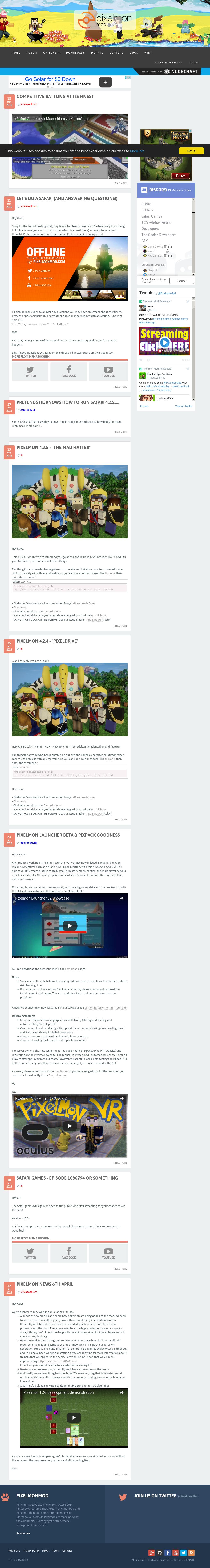 Pixelmon Mod Competitors, Revenue and Employees - Owler Company Profile
