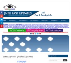 Jntuk Fast Updates Competitors, Revenue and Employees