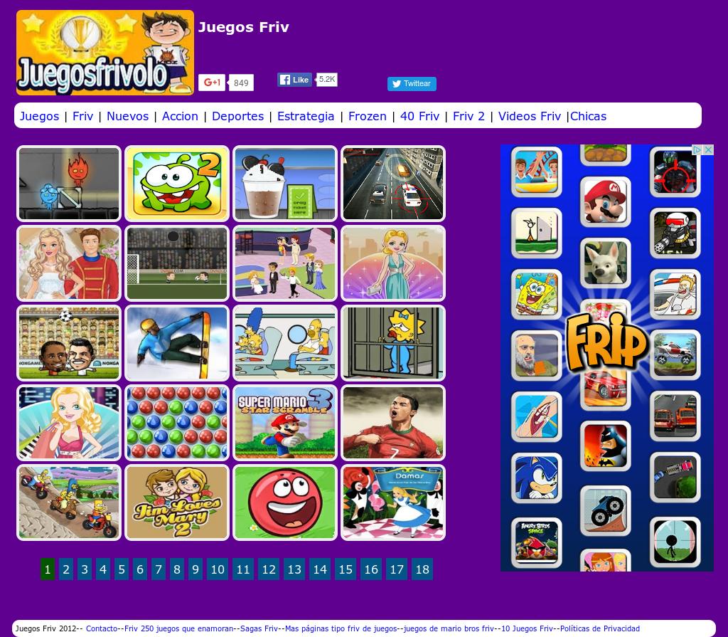 Juegosfrivolo Competitors Revenue And Employees Owler Company Profile