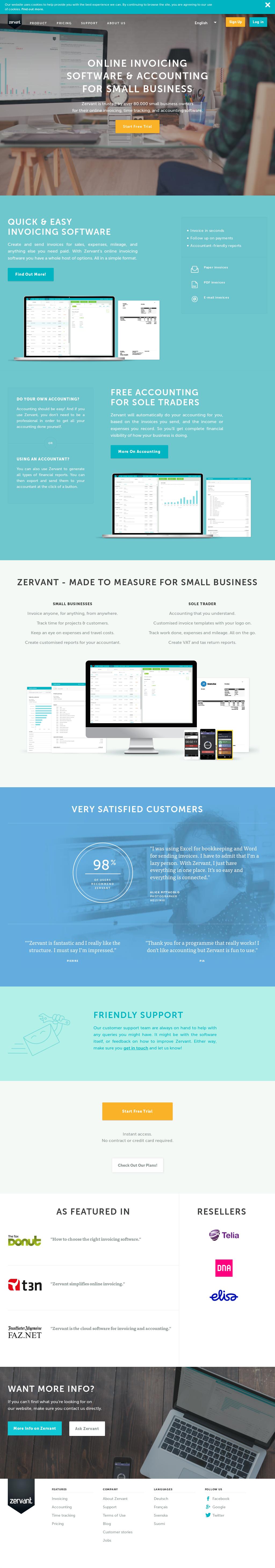 Zervant Competitors Revenue And Employees Owler Company Profile
