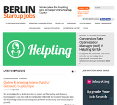 berlin startup jobs competitors revenue and employees owler company profile