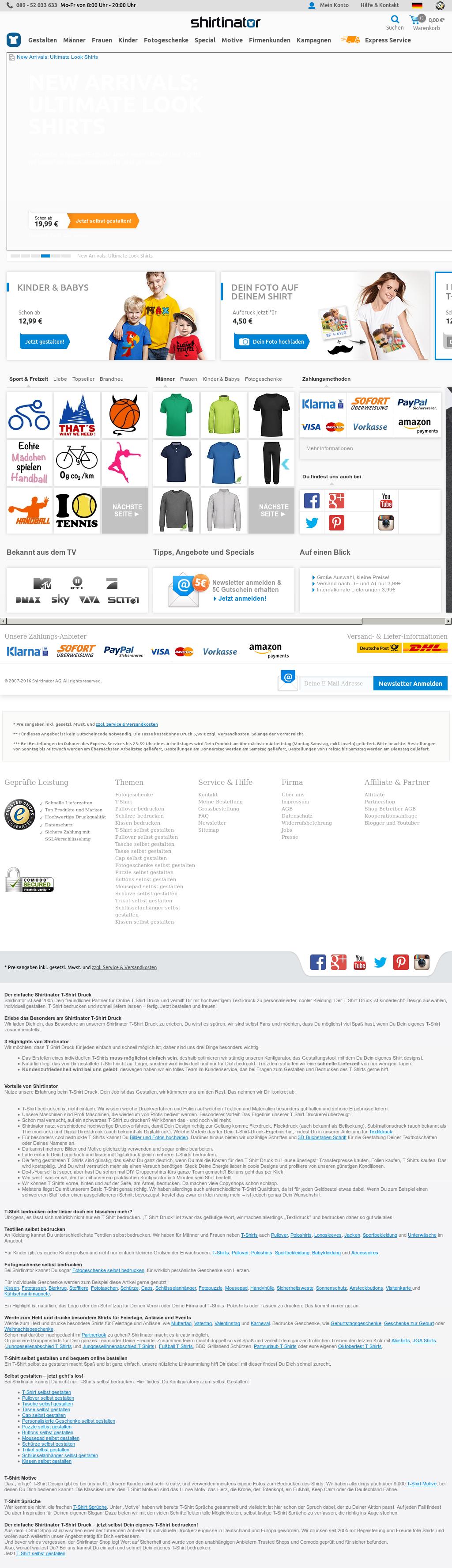 Shirtinator Deutschland Competitors, Revenue and Employees - Owler ...