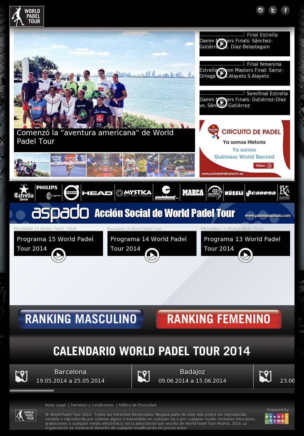 Calendario World Padel Tour.World Padel Tour Competitors Revenue And Employees Owler