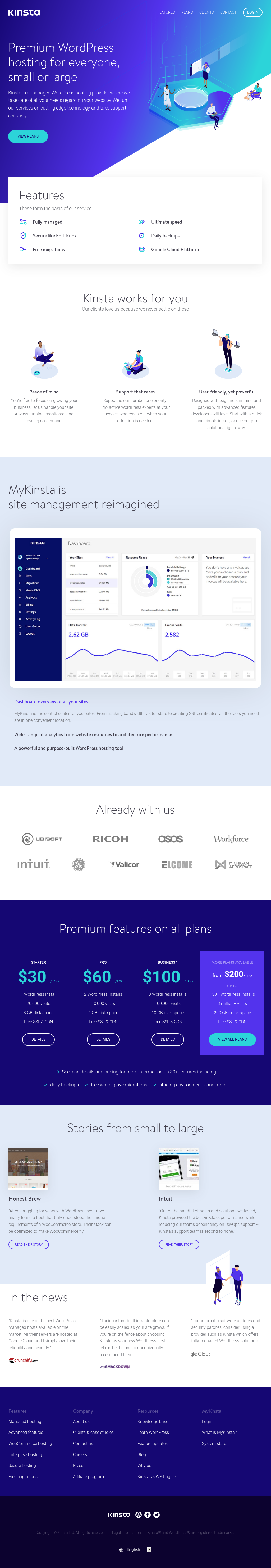 Kinsta Competitors, Revenue and Employees - Owler Company