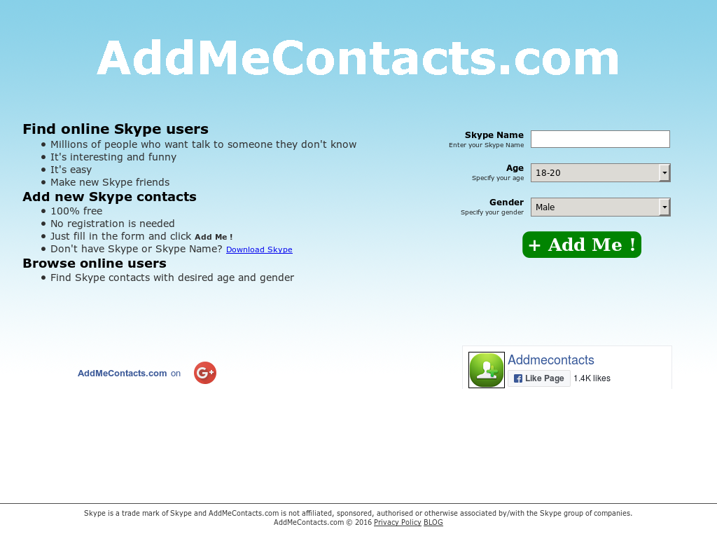 Addmecontacts