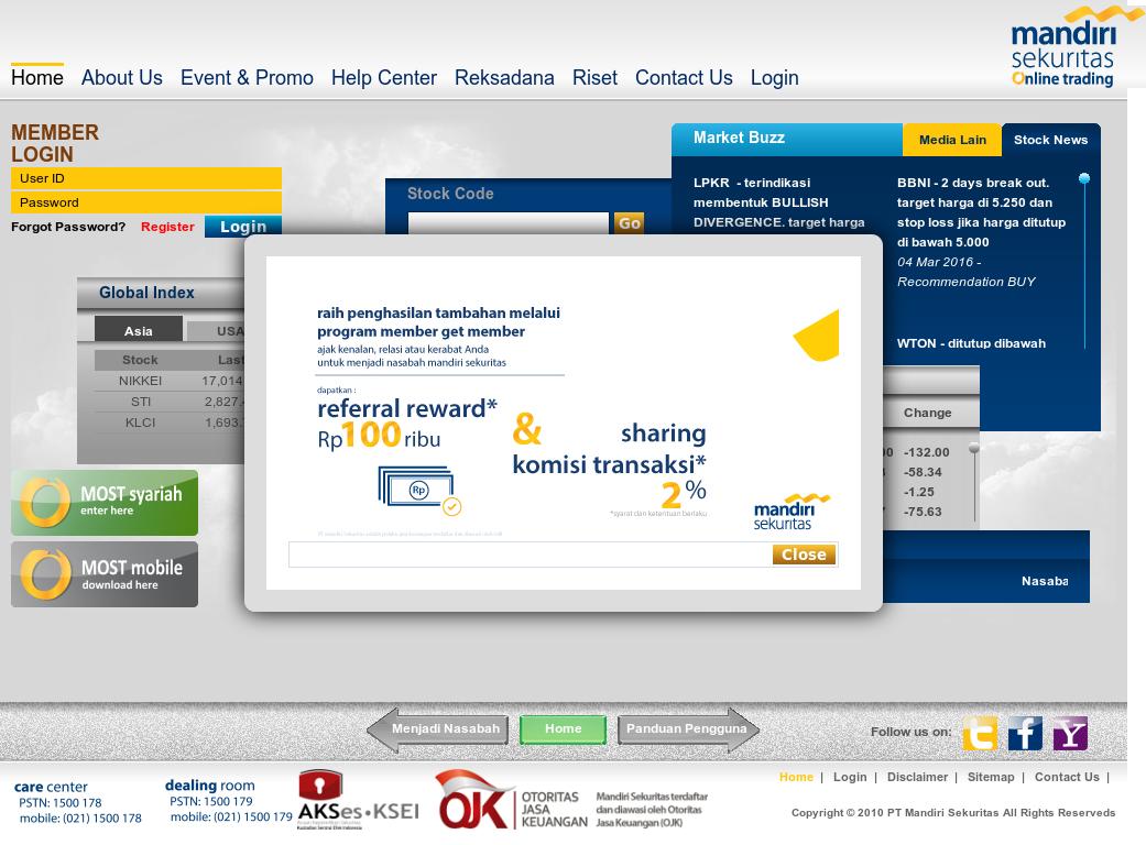 Mandiri Sekuritas Online Trading S Competitors Revenue Number Of Employees Funding Acquisitions News Owler Company Profile
