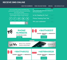 Receive Sms Online Competitors, Revenue and Employees - Owler