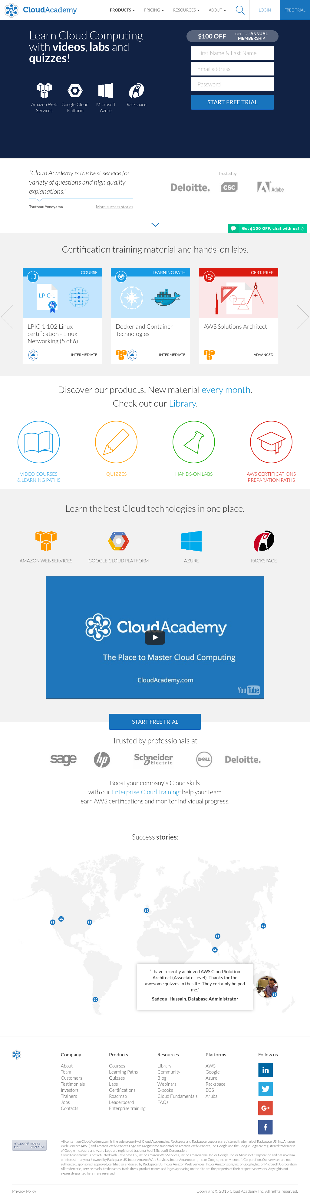 Cloud Academy Competitors, Revenue and Employees - Owler Company Profile