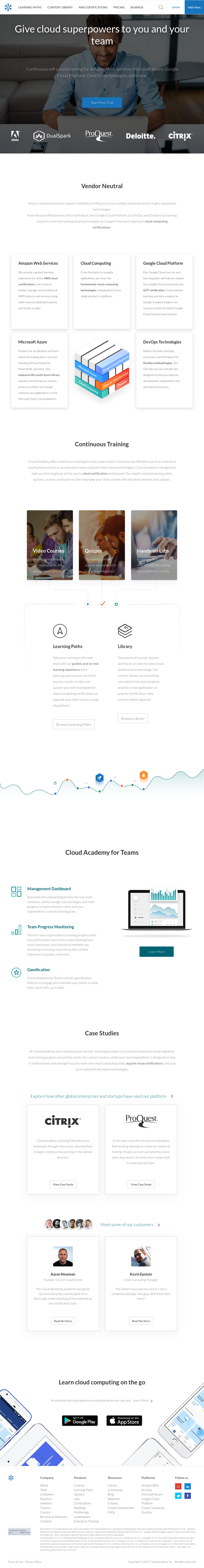 Cloud Academy Competitors, Revenue and Employees - Owler