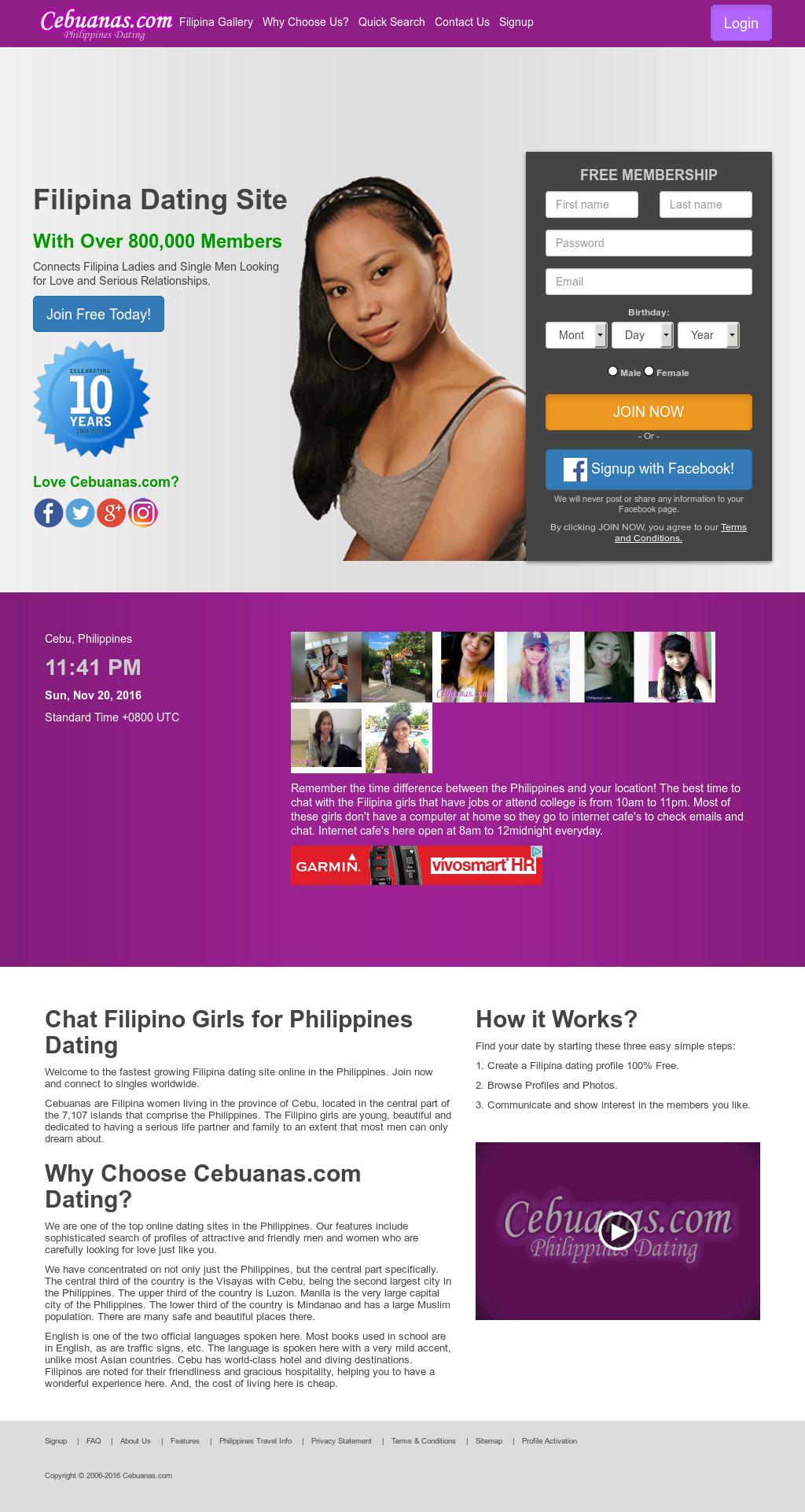 Cebuanas Dating-Seite Login