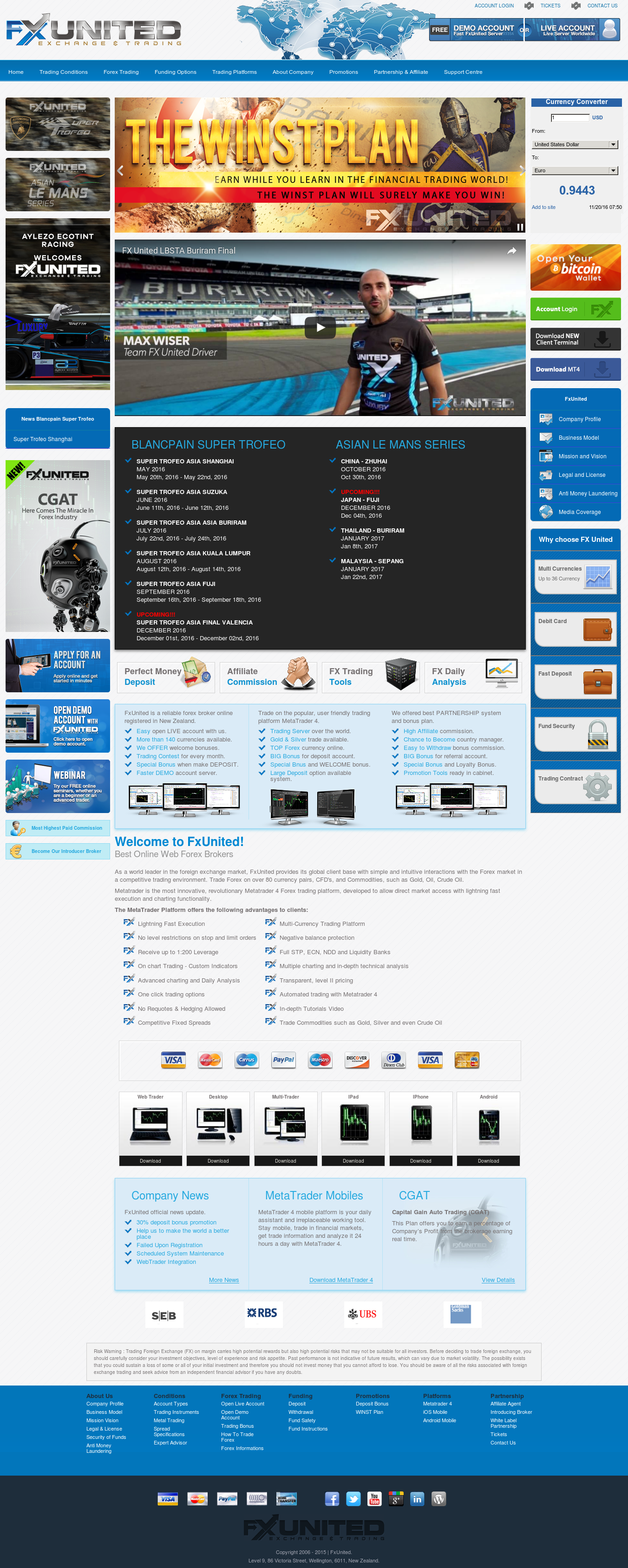 Fxunited - United World Markets Competitors, Revenue and