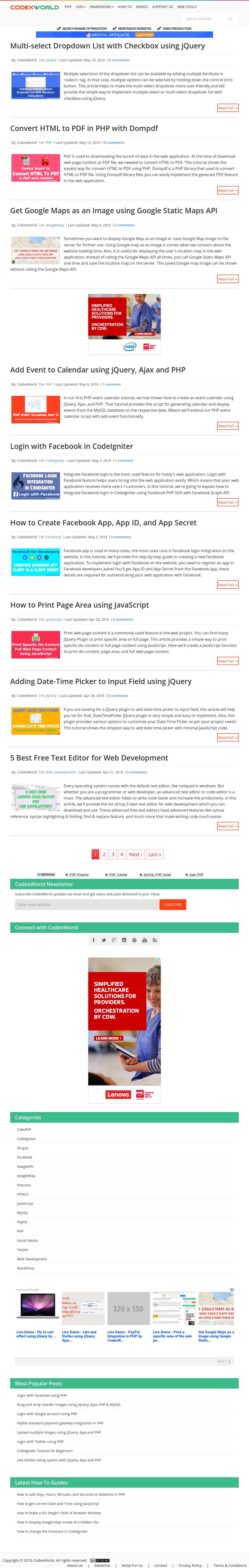 Owler Reports - Codexworld Blog Bootstrap Modal Popup Form Submit