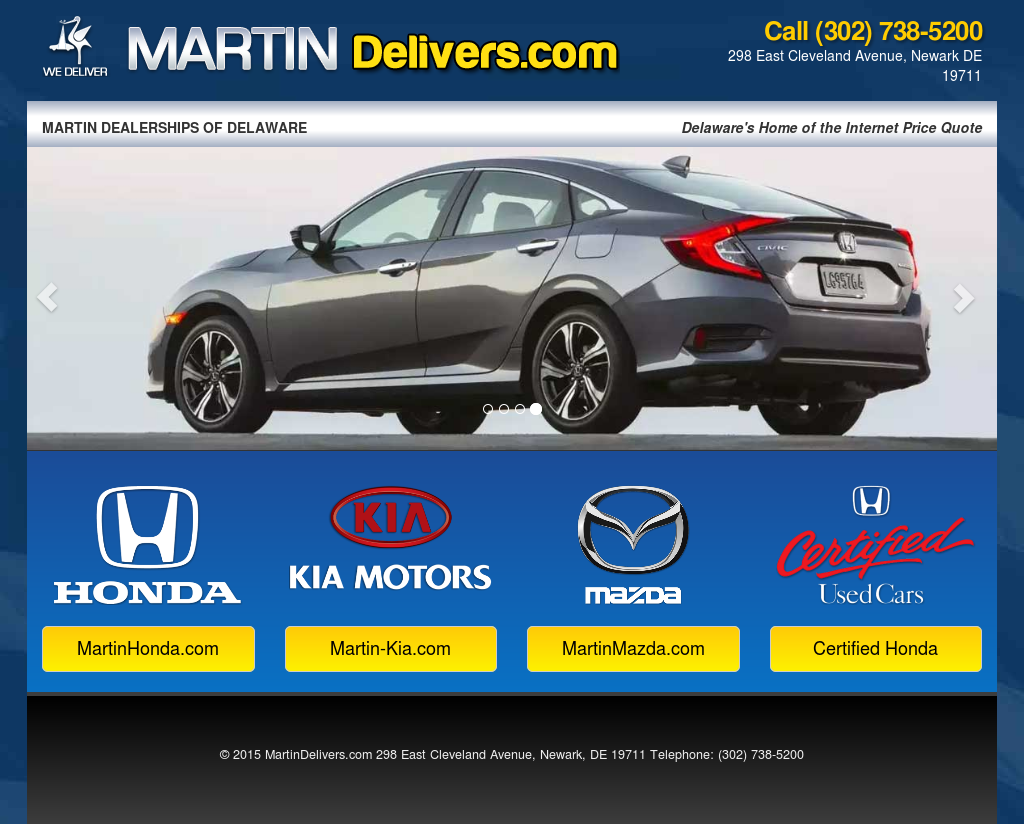 Martin Honda Newark De >> Martindelivers Competitors Revenue And Employees Owler