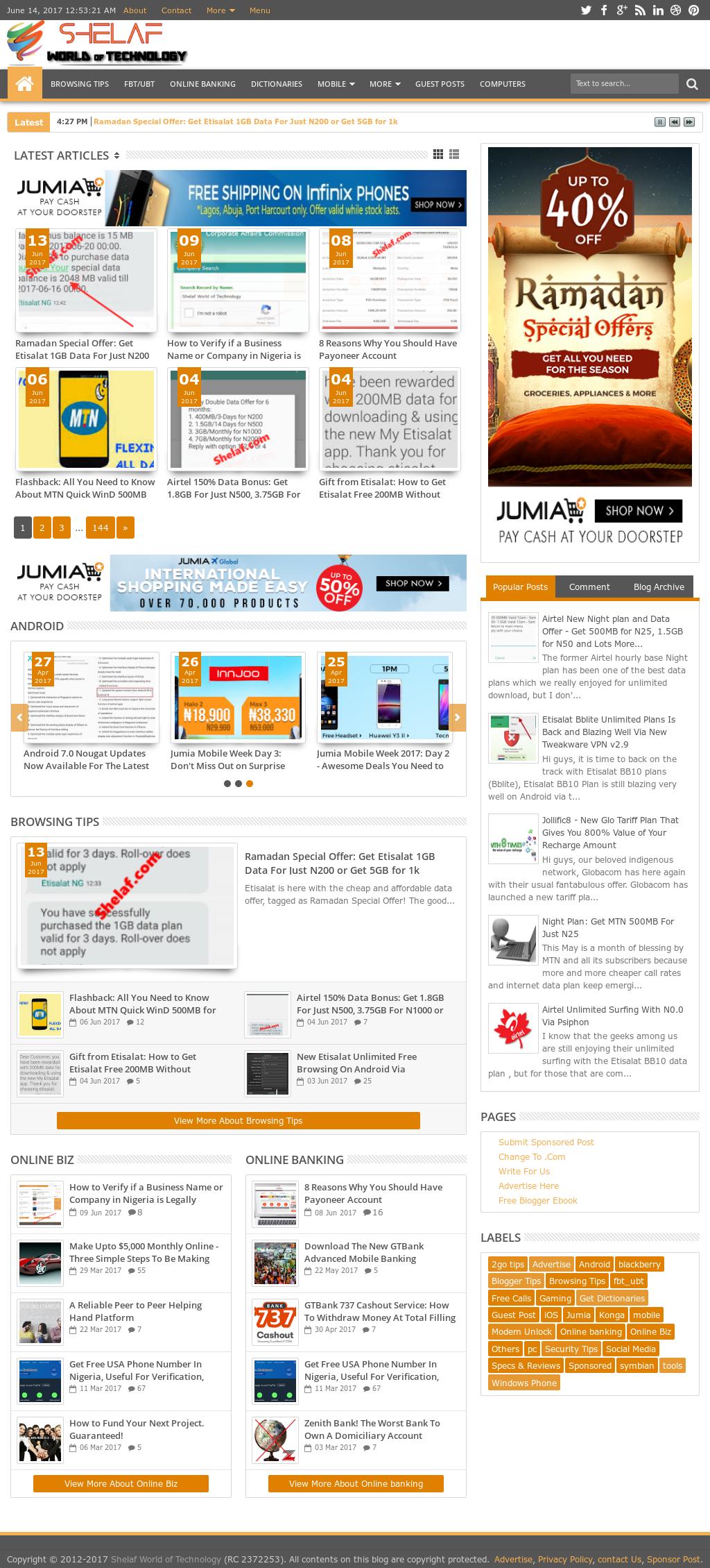 Owler Reports - Shelaf World Of Technology Blog Tough 40