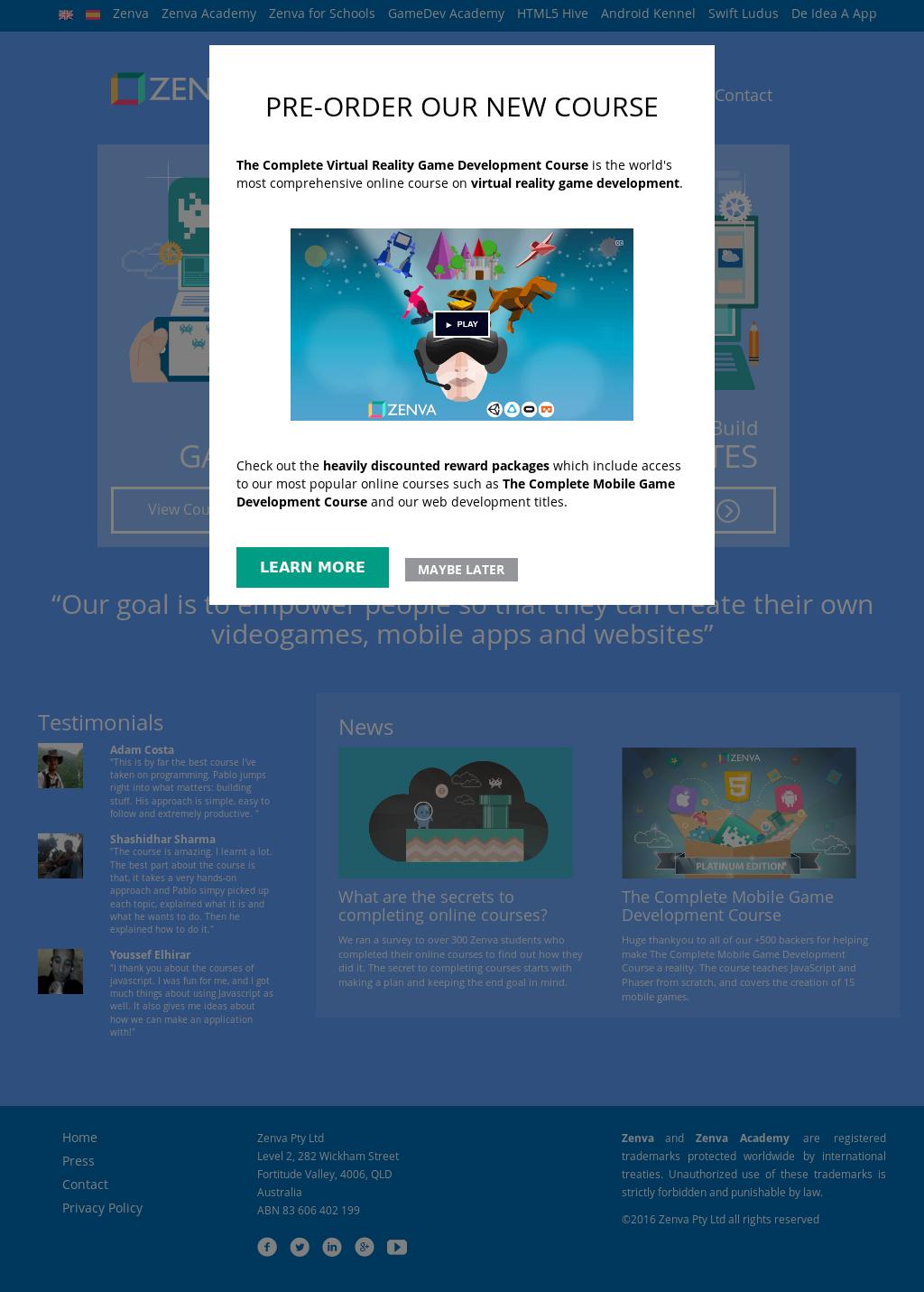 Zenva Competitors, Revenue and Employees - Owler Company Profile