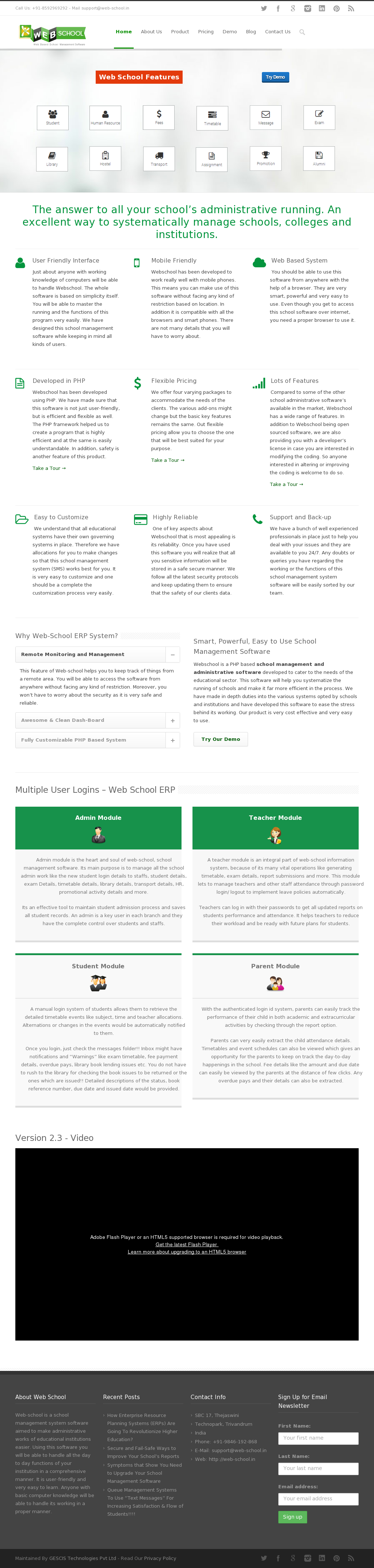 Web-school Competitors, Revenue and Employees - Owler