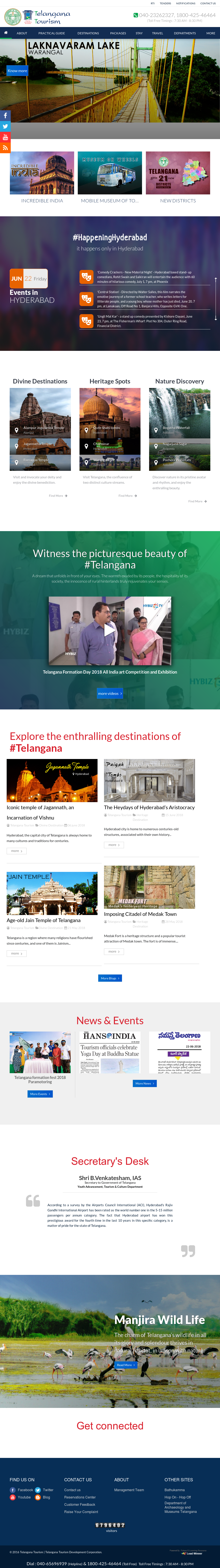Telangana Tourism Competitors, Revenue and Employees - Owler Company