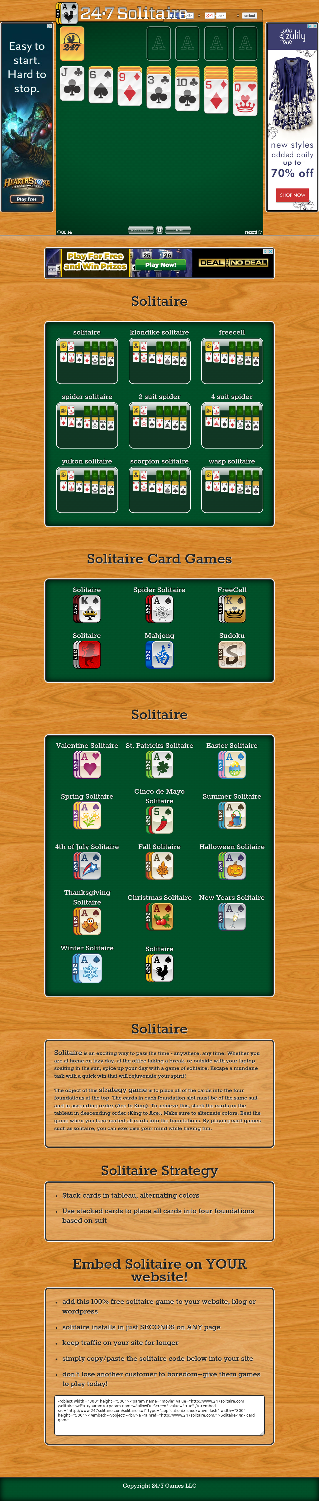 247Solitaire Competitors, Revenue and Employees - Owler Company Profile