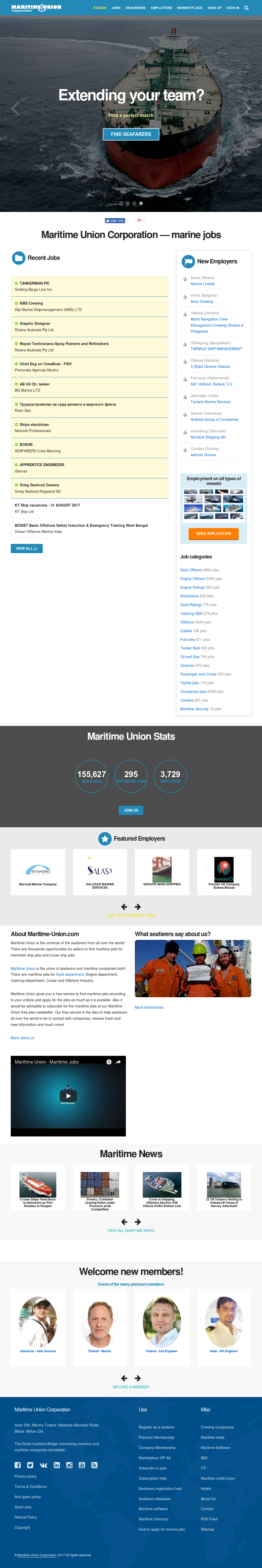 Maritime Union Competitors, Revenue and Employees - Owler Company