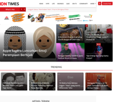 Indonesian Times petitors Revenue and Employees Owler
