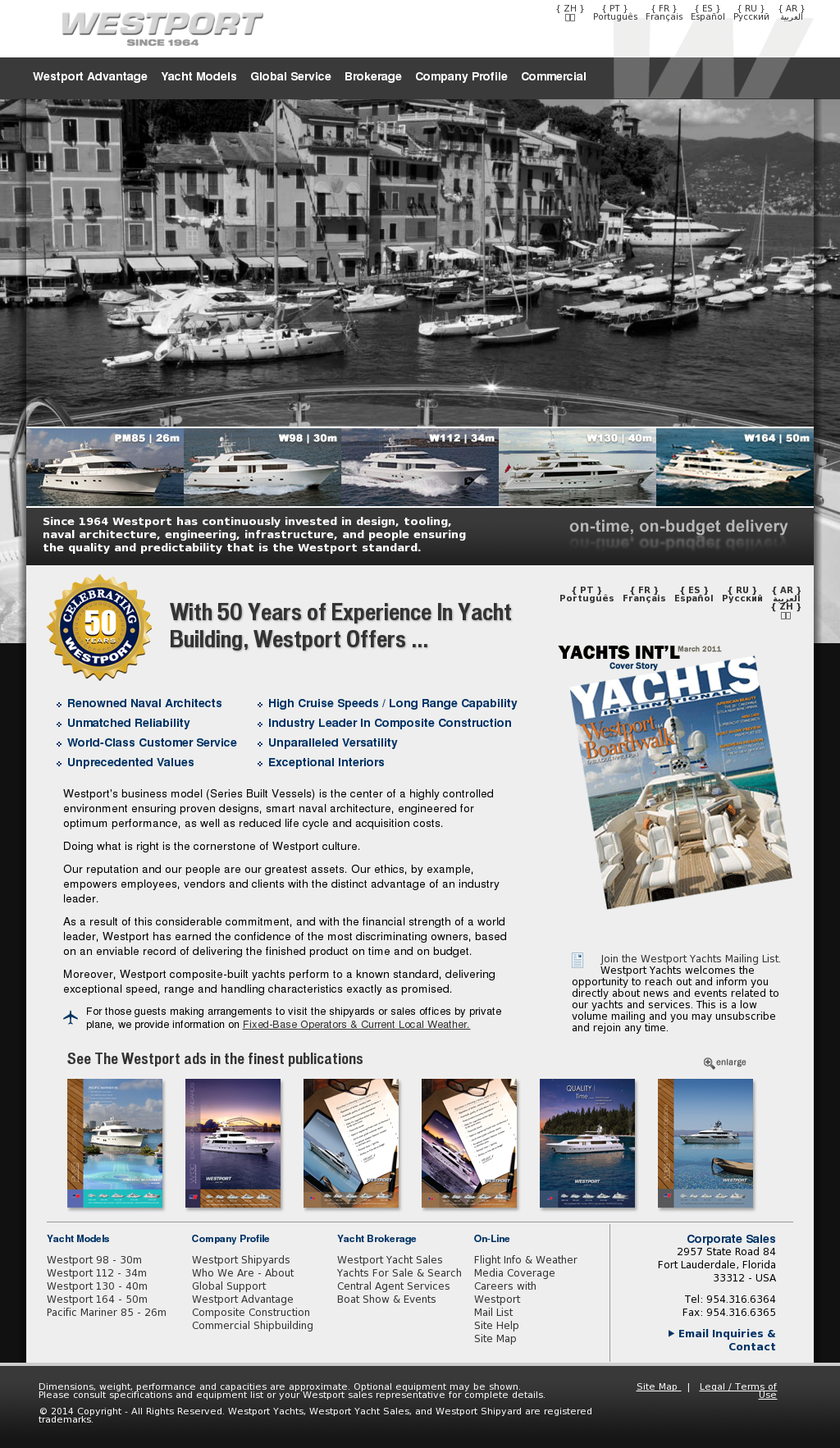 Westport Yachts Competitors, Revenue and Employees - Owler