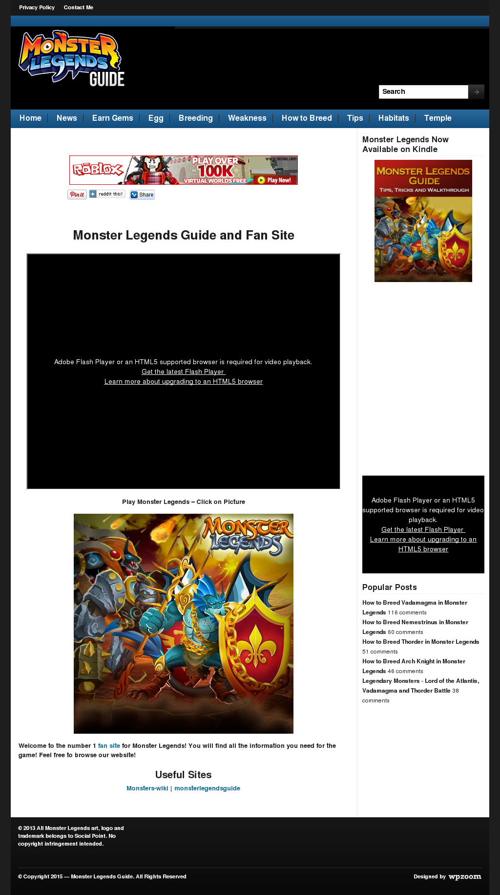 Monster Legends Guide Competitors, Revenue and Employees