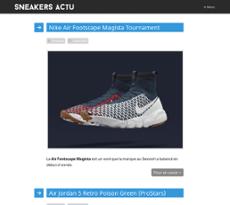 pas cher pour réduction 6a6ef b424a Sneakers-actus Competitors, Revenue and Employees - Owler ...