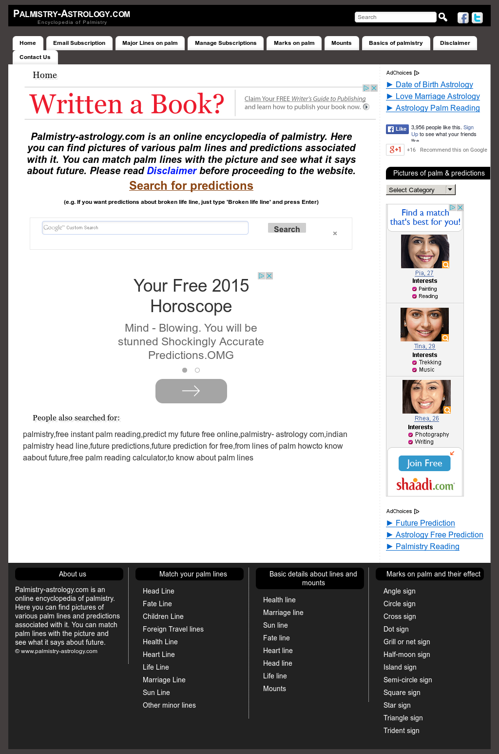 Palmistry-astrology Competitors, Revenue and Employees - Owler