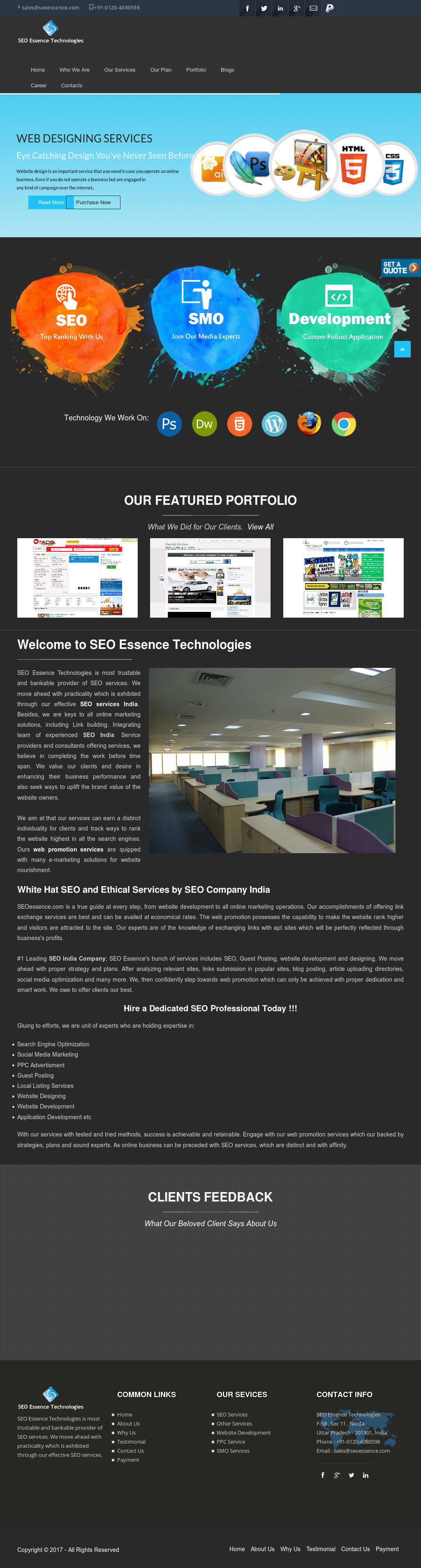 Seo Essence Technologies Competitors, Revenue and Employees