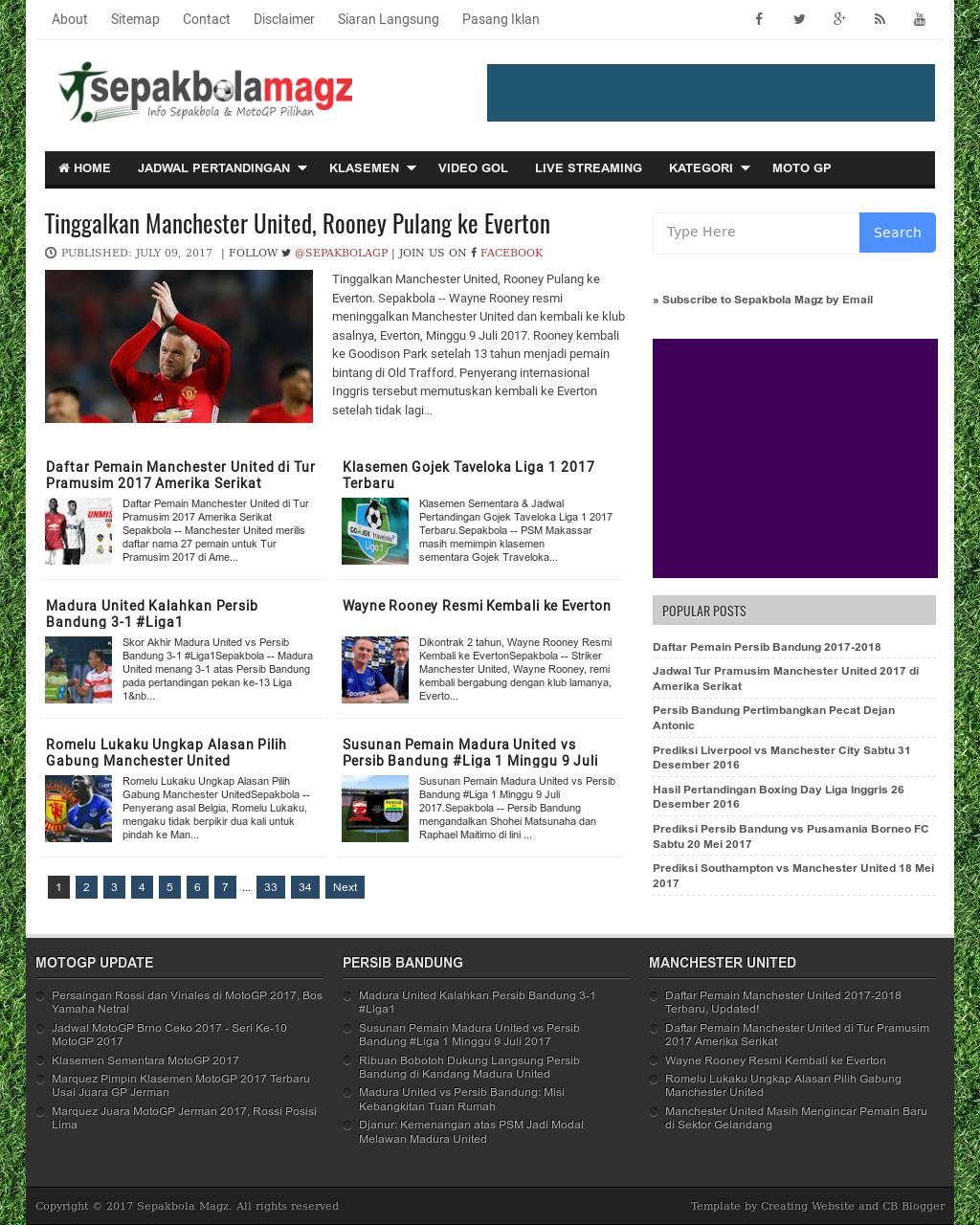 Sepakbola Magz Petitors Revenue And Employees Owler