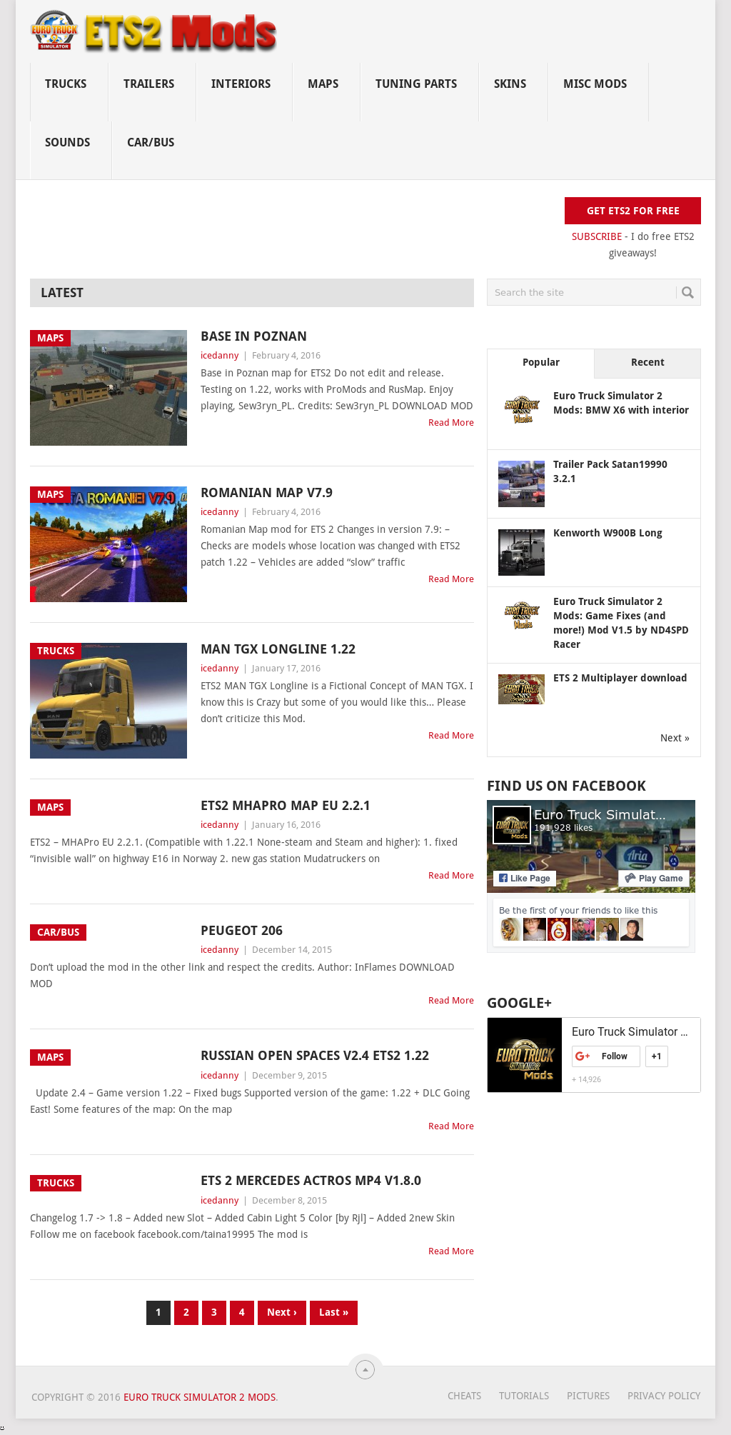 Ets2 Mods Competitors, Revenue and Employees - Owler Company