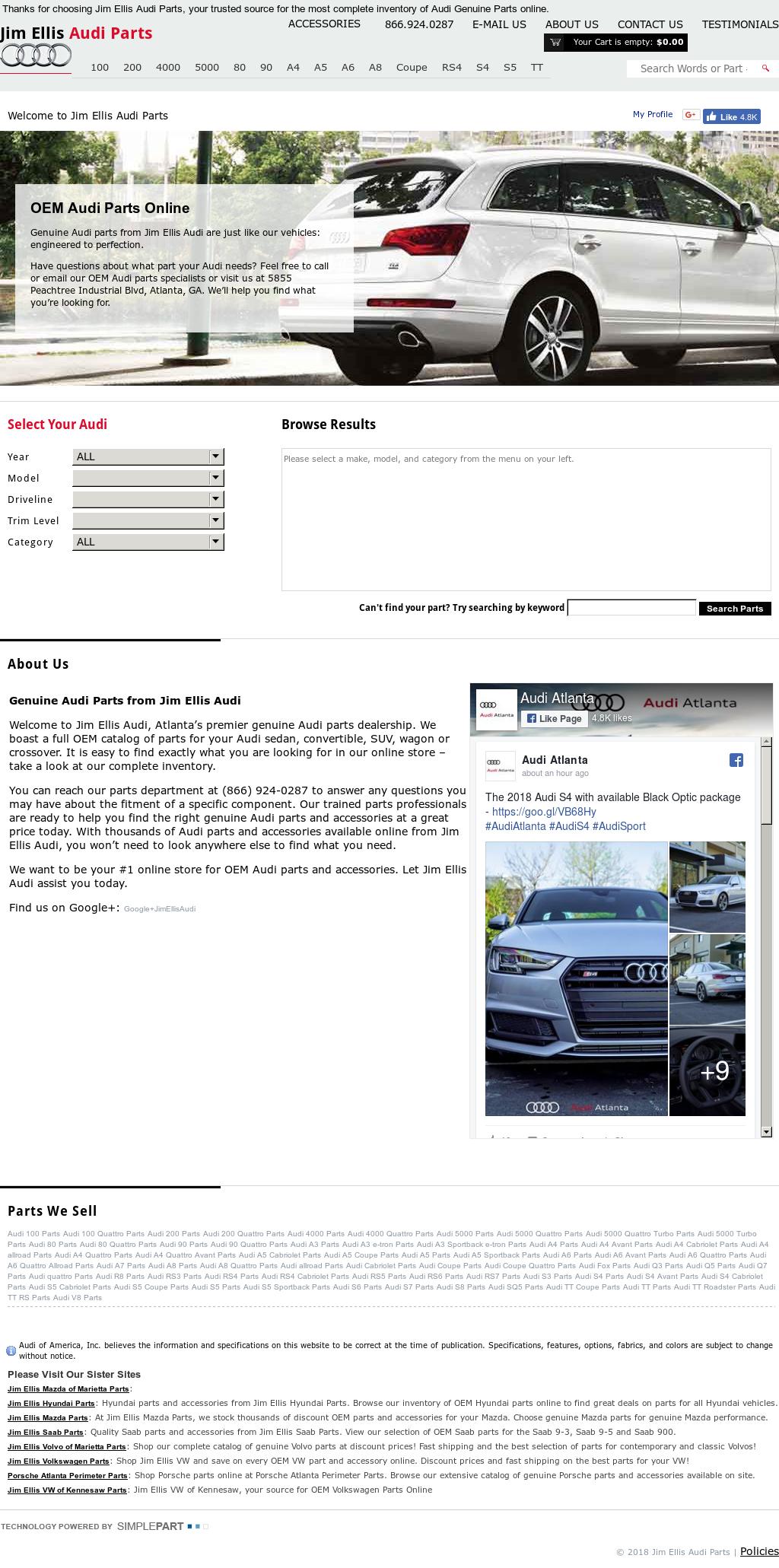 Jim Ellis Audi Parts Competitors Revenue And Employees Owler - Jim ellis audi atlanta