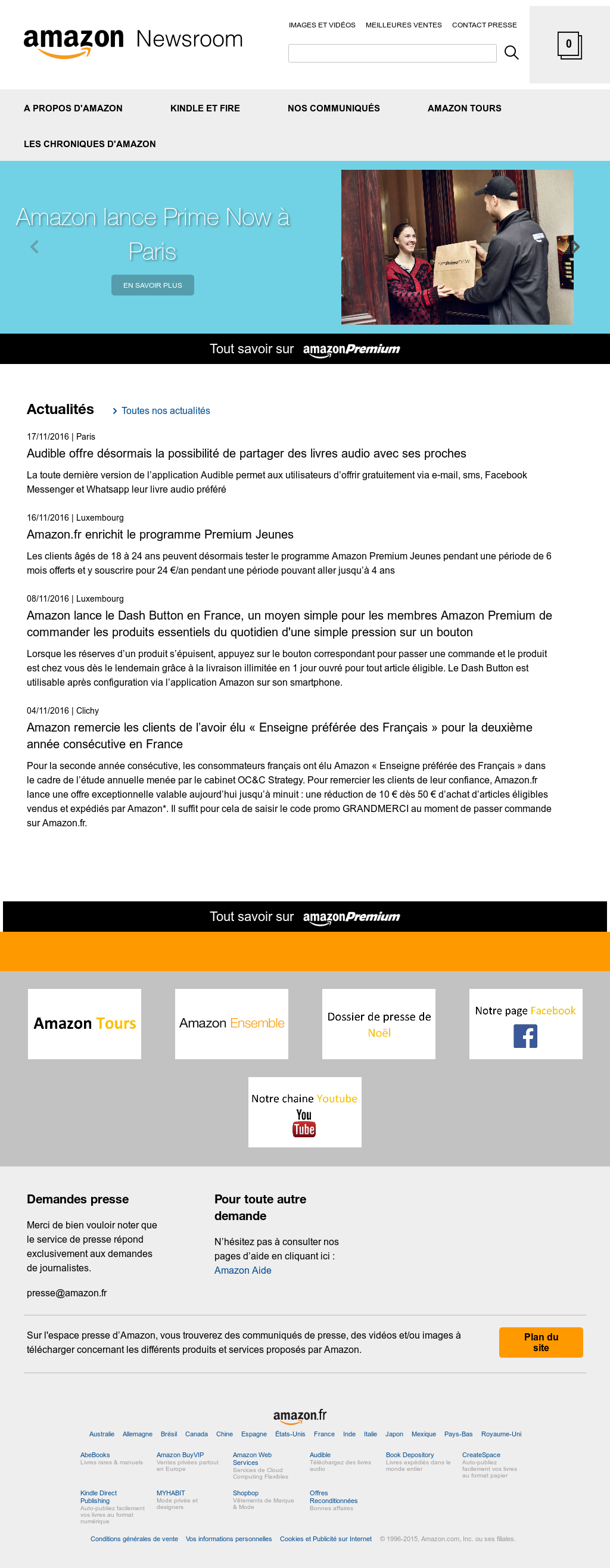Amazon Fr Competitors Revenue And Employees Owler Company