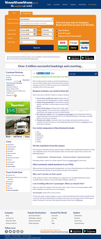 Vroomvroomvroom Competitors Revenue And Employees Owler Company