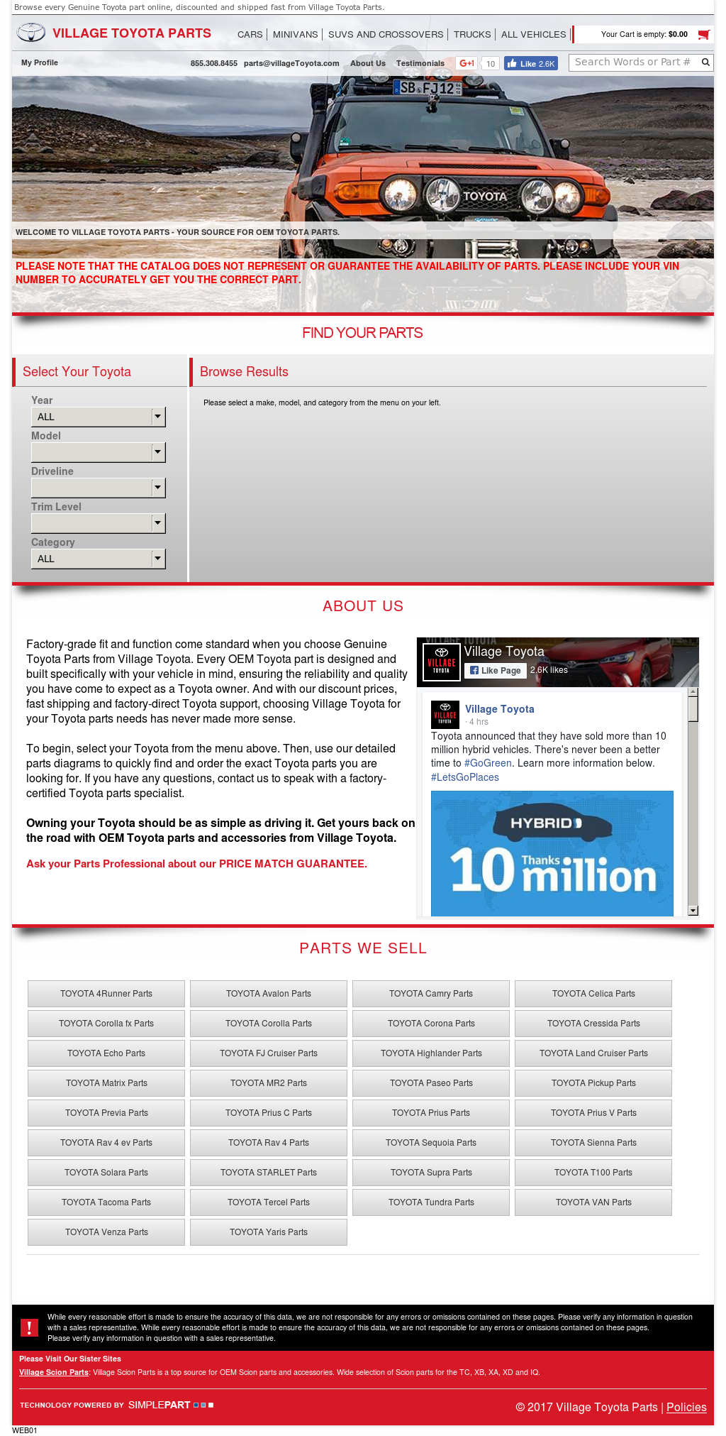 Village Toyota Parts >> Village Toyota Parts Competitors Revenue And Employees Owler