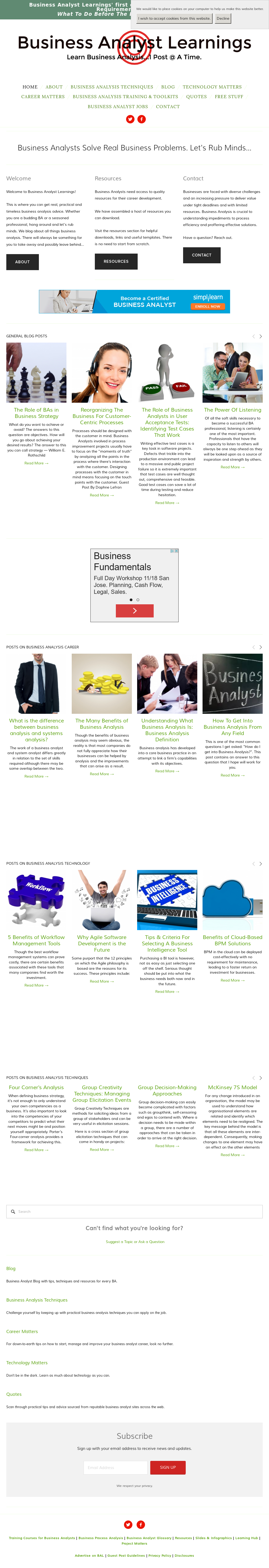 Business Analyst Learnings Competitors, Revenue and Employees