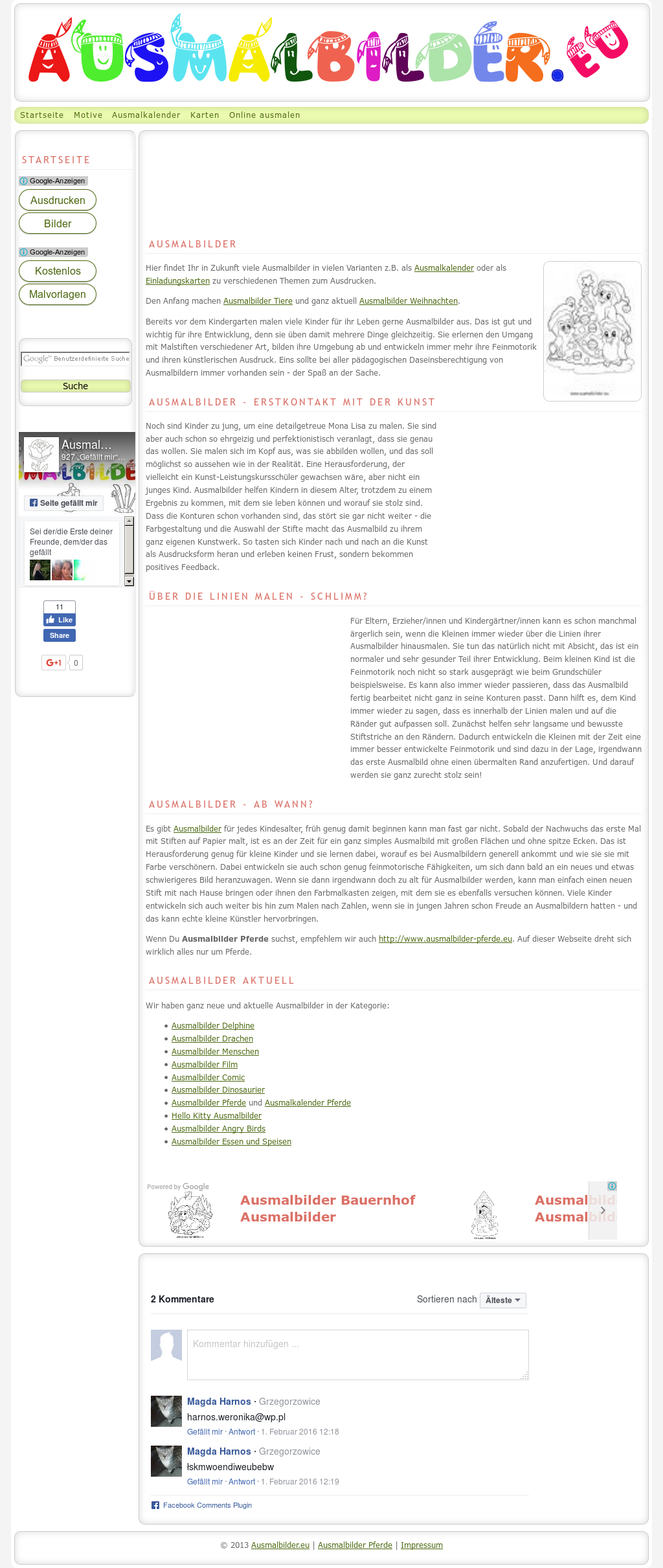 Ausmalbilder Competitors Revenue And Employees Owler