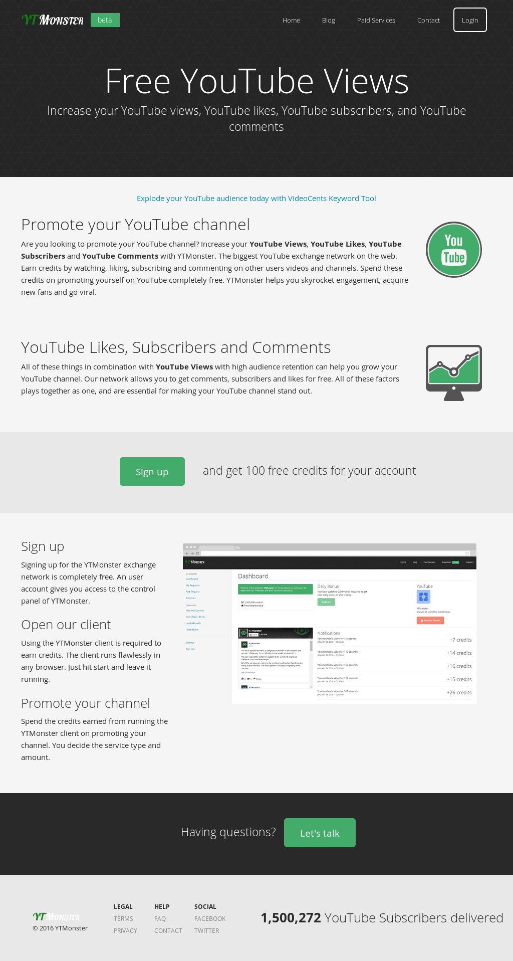 Get 500 Free Youtube Views