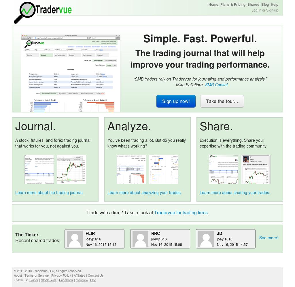 Owler Reports - Tradervue Blog MotiveWave now supported