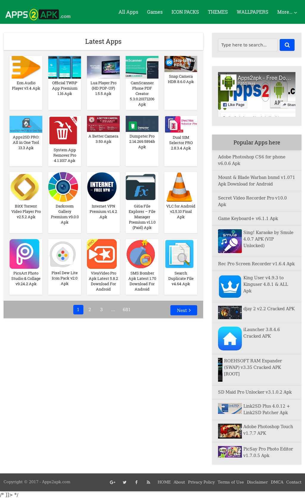 Apps2apk - Free Download Android Apps Competitors, Revenue and